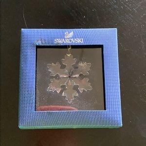 Little snowflake ornament.